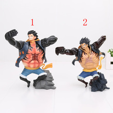 17.5cm Japanese Anime One Piece Figure King Of Artist The Monkey D Luffy PVC Action Figure Collectible Model Toy