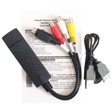USB2.0 VHS to DVD Converter Audio & Video Cables convert analog video to digital format(China)