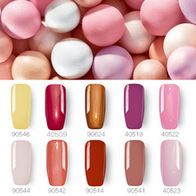 Ibcccndc 10ml UV Gel Nail Polish Long-Lasting Soak-Off Led Lacquer Manicure Varnish Gelpolish Base Top Coat Primer Nail Art Set(China)