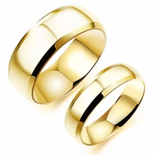 Hot Sell Special Offer 4 colors Couple Rings Pure Titanium steel Woman Man Fashion Jewelry Wholesale Creative Gift Free Shipping