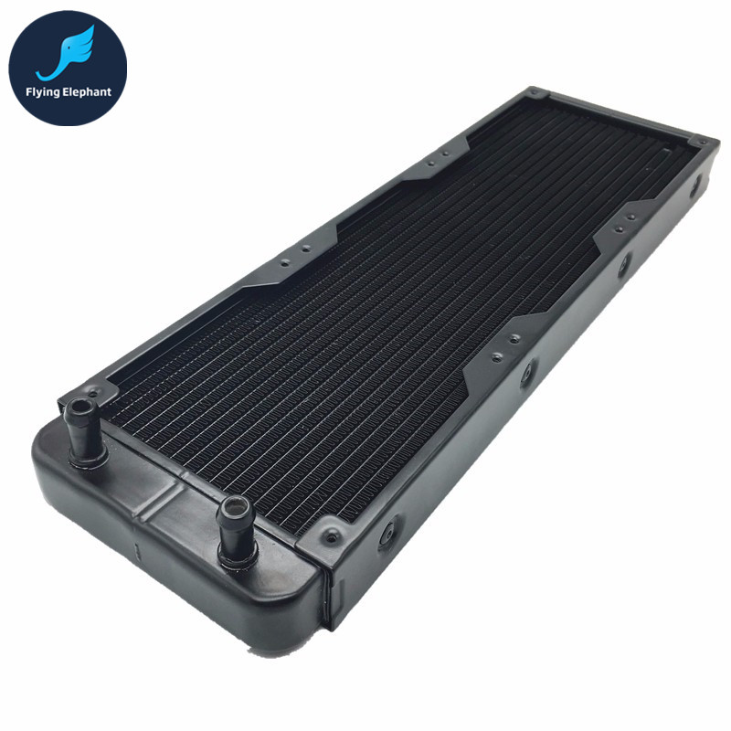 360mm Aluminum PC Water Cooling Radiator 18 Channels For Computer LED Beauty apparatus<br>