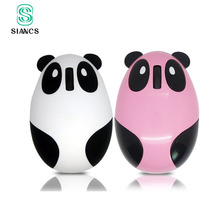 Cartoon Cute Mini Mouse white pink Panda 2.4 wireless bluetooth mouse Rechargeable silent usb ports for pc battery gift