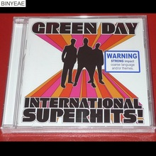 BINYEAE- new CD seal: International Superhits! By Green Day O Edition CD light disk [free shipping](China)