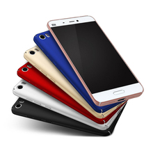 Hard Back Case For XiaoMi RedMi Note 4 3 2 3S 2S 4X 3X 5C 5S Plus Pro 4A Slim matte PC Cover Black Rose Gold Red Sliver Blue
