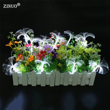 ZINUO  220V Christmas LED String 10M 100 Leds Dandelion Optic Fiber Fairy String Light For Wedding Garden Party Decoration