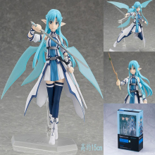 2017 New Japan Anime Sword Art Online 15cm Figma 264# 248# 174# Ausna ALOver Boxed Action Figure Toys with box