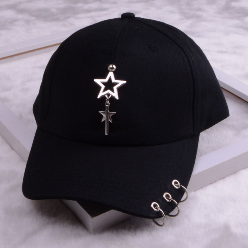 baseball cap with ring dad hats for women men baseball cap women white black baseball cap men dad hat (17)