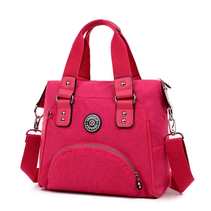 New Fashion Women Bag Waterproof Nylon Handbag High Quality Designer Crossbody Bag for Women Messenger Bags Female shoulder bag<br><br>Aliexpress
