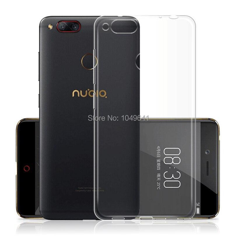 ZTE1336_2_Ultra-thin Clear Soft Case for ZTE Nubia Z17 5.5 inch