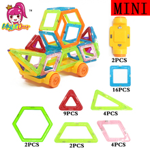 Truck Magnetic Designer Mini Building Blocks 39pcs Construction Toy Kids Educational Toys Plastic Creative Bricks Enlighten Toys(China)