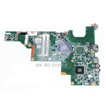 646177-001 For HP 2000 Compaq CQ43 CQ57 Laptop motherboard  HM65 GMA HD DDR3 100%test