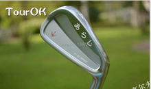 TourOK GOLF George Spirits FI-01 forged Golf Irons set 4-9P with ns950 shaft Clubs Golf set Free shipping(China)