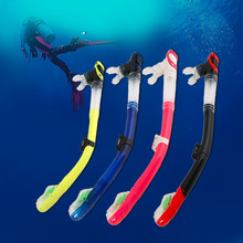 2016 New Silica Gel  Diving Snorkel Full Dry Snorkel Breathing Tube Swimming Diving Snorkeling Equipment 5 Colors  Wholesale