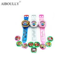 [AIBOULLY] 2016 Anime Peripheral  Yo-Kai Watch DX Yokai Watch Kids Toy With 3 Medals & Music Educational Toys Best Gifts 871