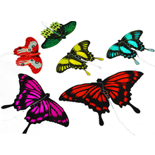 Outdoor Toy High Quality Handmade Light Mini Kite 18cm Butterfly Kite and Bat Kite with Handle Line Easy Flying Pocket Kites