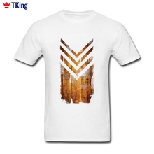 Chevron Wood Men's Shirt Short Sleeve Bespoke New Designs Family Retro T-shirts Big Size High Quality Brand-clothing