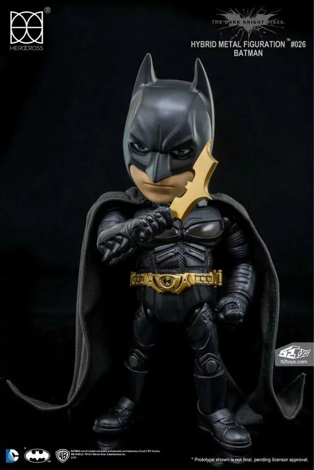 DC Comics Justice League America Anime Batman Cute Edition Bruce Wayne Action Figure Toys 14cm Kids Collection Model   KB0139<br>