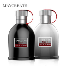 MayCreate Original 100ML Men Perfume Spray Bottle Long Lasting Perfumes and Fragrances For Men's Cologne Parfum Eau De Cologne(China)