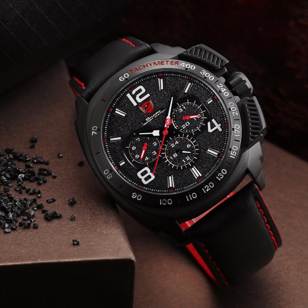 HTB1T7CxRFXXXXc5aXXXq6xXFXXXd - Tiger Shark 3rd Generation Sport Watch - Red SH417