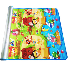 180*120*0.3cm Baby Crawling Play Puzzle Mat,Children Carpet Toy Kid Game Activity Gym Developing Rug Outdoor Eva Foam Soft Floor(China)