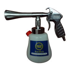Knilca Black/preto tornador de limpeza cleaning gun , high pressure car washer tornador foam gun,car tornado espuma tool(China)