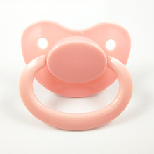 All Color Big Baby Pacifier Adult Size ABDL Silicone Pacifier Adult Nipple Sucking Christmas Gift