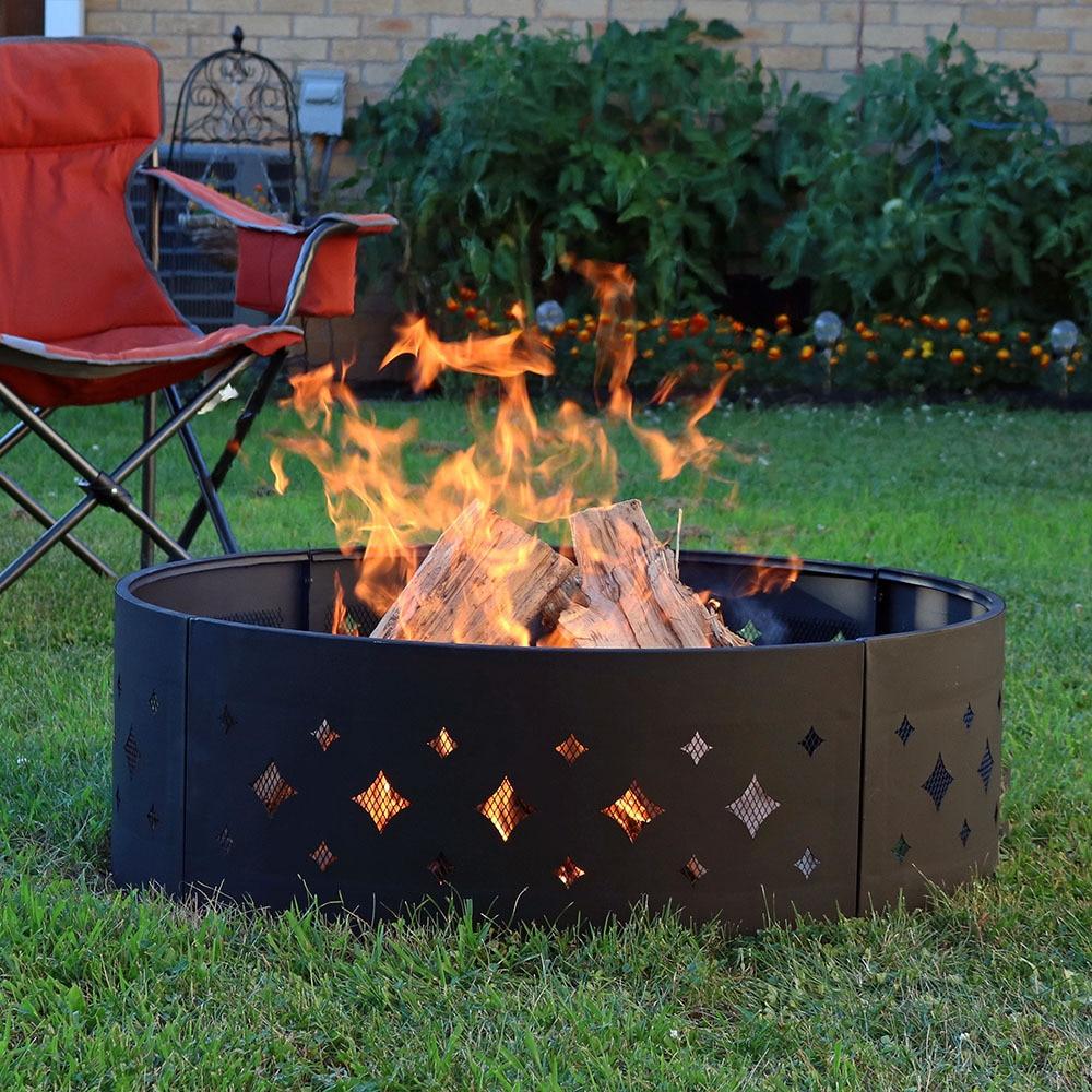 Sunnydaze Campfire Rings (2)