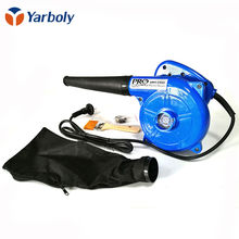Electric Hand Operated Blower for Cleaning computer, Blue Electric blower, computer Vacuum cleaner(China)