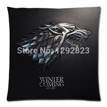 Free Shipping Decorative Game of Thrones Custom Zippered Pillow Case 18x18 (one side) P409