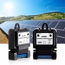 Solar Panel Charger Controllers Regulator Park Street Garden Light Plastic 3A 12V Controller(China)