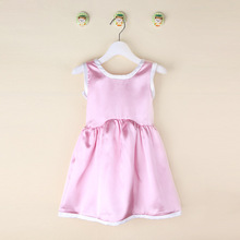 Girls Dresses Summer Dress Girls 2016 Pink Bow Summer Style Cheap Clothes China Sell Direct from Factory High Quality Dress New