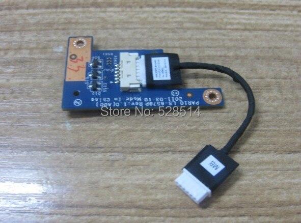 Original  ls-6578p BOARD FOR ALIENWARE M18X R2 button switch board and plate line HR8KV<br>