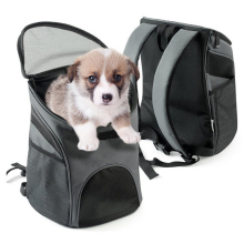 Mesh Head Pet Carrier Breathable Small Dog Backpack female PC Pet Dog Outside Travel Bag Portable Bag Cat Bags Best Sell