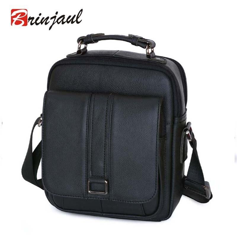 Business Men Genuine Leather Bag Natural Cowskin Men Messenger Bags Vintage Mens Cowhide Shoulder Crossbody Bag CX342<br><br>Aliexpress