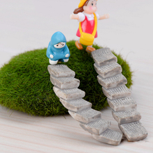 1PCS Steps Stairs 1.5*6cm fairy garden miniatures gnome moss terrarium decor crafts bonsai for home decoration DIY Gifts