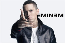 F-143 Custom Eminem Featured image Home Decor Fashion modern For Bedroom Wall Poster Size 40x60cm Wall Sticker F83-143TO(China)