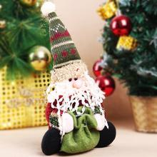 2016 Christmas Candy Bag Tree Decor Ornaments Xmas Santa Claus Design Gift Party Supplies - KARL International store