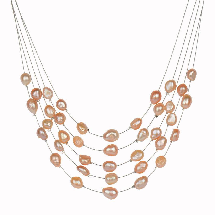 HTB1T7 1RVXXXXXXaXXXq6xXFXXXJ - RAVIMOUR Simulated Pearl Jewelry Multilayer Boho Choker Necklace for Women Fashion Baroque Perlas Statement Necklaces & Pendants