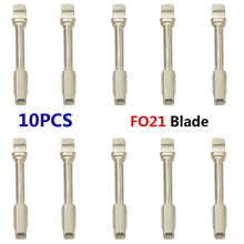 10pcs/lot Cheapest High quality KEYDIY Universal New Flip Foldable Key Uncut FO21 Blank Key Blade for ford/moden(China)