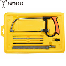Buy PW TOOLS Mini Multi-functional All-purpose Hand Saw Woodworking 8 1 Metal Hand Saws Set DIY Hand Tool cutting PVC wood for $9.77 in AliExpress store