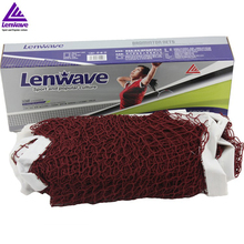 Free Shipping Lenwave Brand Indoor Outdoor Sports Training Net Standard Size Good 6m x 0.75m Badminton Net(China)