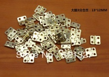 Packaging Hardware hinge wooden small flat copper hinge  special small