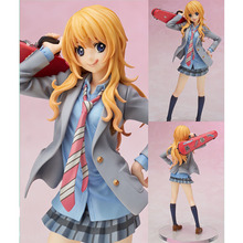 Your Lie in April Miyazono Kaori Action Figure 1/8 scale painted figure Cute Uniform Ver. Statue no box (Chinese Version)(China)