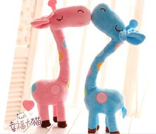 30cm New Mini Giraffe Plush Toys Lovely Giraffe Figurines Stuffed Animals Baby Toys Gifts For New Year