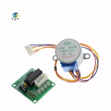 Buy 1LOTS 28BYJ-48-5V 4 phase Stepper Motor+ Driver Board ULN2003 Arduino 1xStepper motor +1x ULN2003 Driver board for $1.83 in AliExpress store