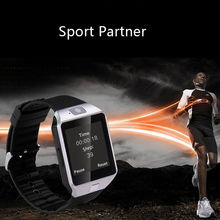 2017 Newest Dz09 Sport Bluetooth Mobile Watch Phones Smart Watch Phone for Ios Android(China)