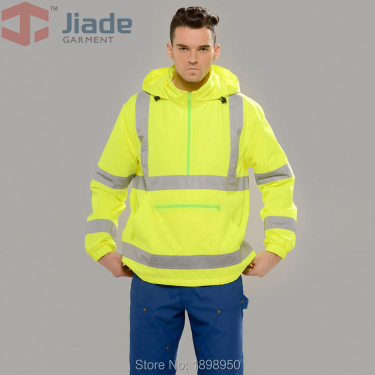 Jiade Adult High Visibility Jacket l Long Sleeve Jacket Mens Work Reflective Jacket<br><br>Aliexpress