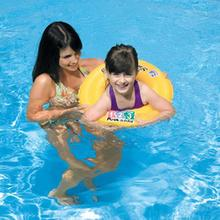 INTEX 58231 inflatable swim ring child swim ring life buoy ring armpit thickening double air chamber 3-6 years(China)
