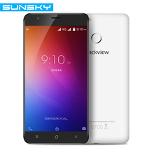 Blackview E7 5.5 Inch 720p Android 6.0 Smartphone 1GB RAM 16GB ROM MT6737 Quad Core Cellphone Touch ID 4G FDD LTE Mobile Phone