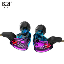 KZ ZST Armature Dual Driver Earphone Detachable Cable In Ear Audio Monitors Noise Isolating HiFi Music Sports Earbuds(China)
